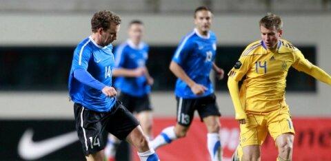 ВИДЕО: Сборная Эстонии проиграла на последних секундах Украине