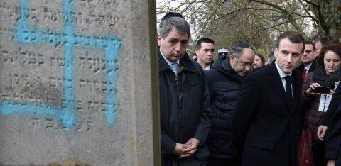 """""""Aitab!"""" Prantslased tunnevad antisemitismi leviku pärast muret"""