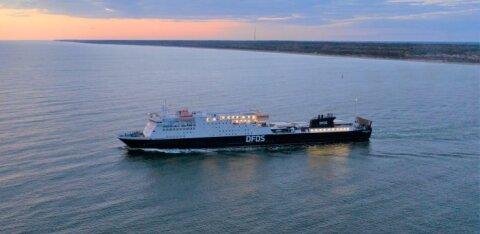 DFDS suurendab Eesti-Rootsi liinil väljumiste arvu