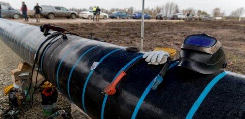 Эстонско-финский газопровод Balticconnector наконец вывели на сушу