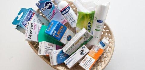 Apteeker soovitab: millised ravimid võiks igal inimesed kodus olemas olla?
