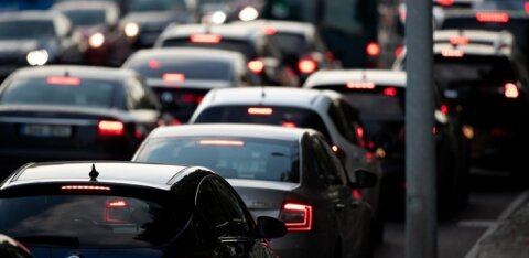 В столице на Тартуском шоссе произошло ДТП: движение встало на несколько часов