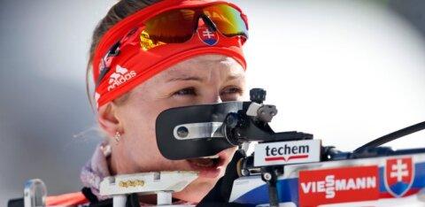 Кузьмина выиграла спринт, три эстонки пробились в гонку преследования