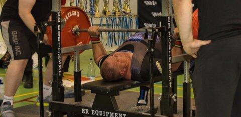VIDEO | 312,5 kilogrammi surunud Kaido Leesmann: vanusega hakkad esikohti veelgi rohkem hindama