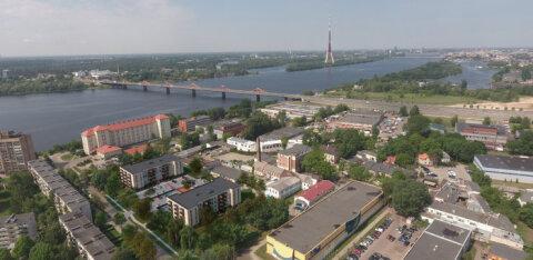 FOTOD | Eesti arendaja arendab Daugava jõe ääres oma esimest elamuprojekti. Huvi on kriisile vaatamata märkimisväärne