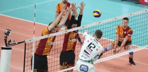 Venno mängis suurepäraselt, kuid Galatasaray kaotas CEV Cupi finaali avamängu