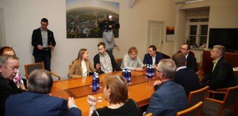 Коалиция центристов и реформистов в Тарту развалилась