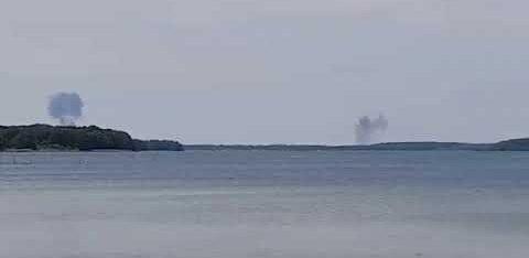 ВИДЕО: В Германии столкнулись два истребителя