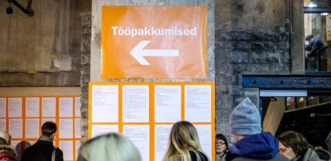 ГРАФИК | Число вакансий в Эстонии только растет. Смотрите, в какой сфере их больше всего!
