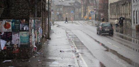Ночью ожидается снег. Департамент предупреждает: дороги могут быть скользкими