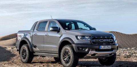 Varasemast väiksema kopsumahuga Ford Ranger