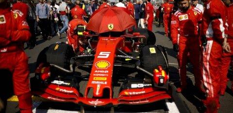 Itaalia meedia tambib: Ferraril ei tööta auto, mootor ega taktika