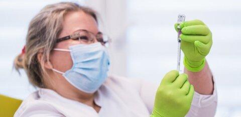 В Ласнамяэ с понедельника начнется вакцинация против COVID-19 людей из группы риска