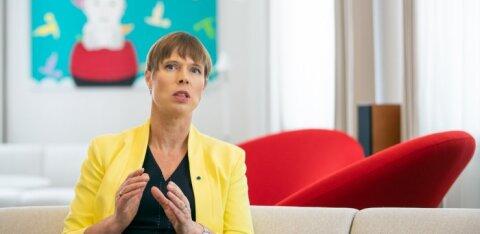 """President Kersti Kaljulaid: """"Valetaksin, kui ütleksin, et see valitsus pole ohtlik Eesti välispoliitikale ja liitlassuhetele"""""""