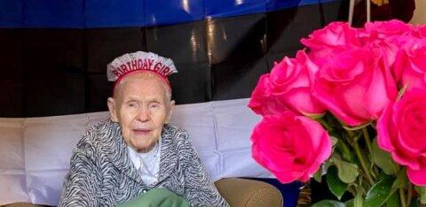 FOTOD | Vanim eestlanna maailmas sai sünnipäevaks ahjusooja koogi ja ühe oma lemmiklaulu!