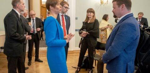 """""""On arad inimesed kunagi midagi saavutanud?"""" President Kaljulaid käis Putiniga n-ö tavalisel kohtumisel"""