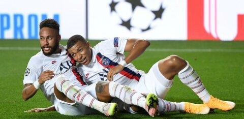 KOGU TÕDE MÄNGUST   Eksklusiivsed peod ei sega: PSG jõudis rahaajastul esmakordselt poolfinaali