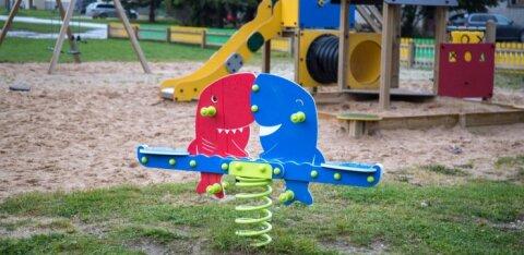 На Таллиннских детских площадках создаются условия для детей с особыми потребностями
