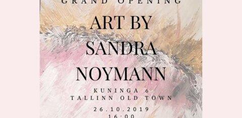 Как преодолеть стресс с помощью холста и красок? Скоро на открытии выставки Art by Sandra Noymann!