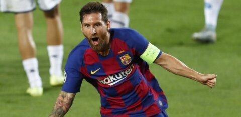 Lionel Messi ostis koju koroonaviirusevastased madratsid