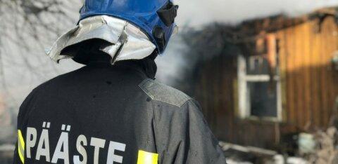 В Йыгевамаа в пожаре погибла пожилая женщина