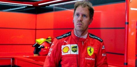 Saksamaa meedia: Vettel peab läbirääkimisi Aston Martiniga