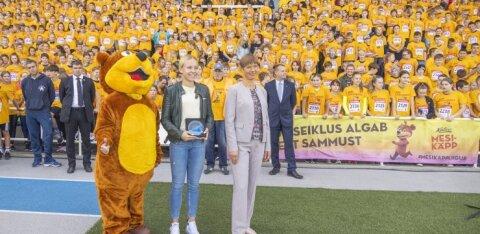 Президент Керсти Кальюлайд открыла Спортивную неделю