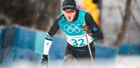 Эстонский спринтер тренируется в Отепя вместе с лучшими российскими лыжниками