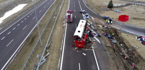В Польше с моста упал рейсовый автобус с гражданами Украины. Шесть человек погибли