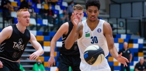 В битве гигантов эстонского баскетбола зафиксирован неприличный счет