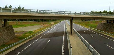 Со вторника на новом отрезке шоссе Таллинн — Тарту разрешена скорость до 120 км/ч