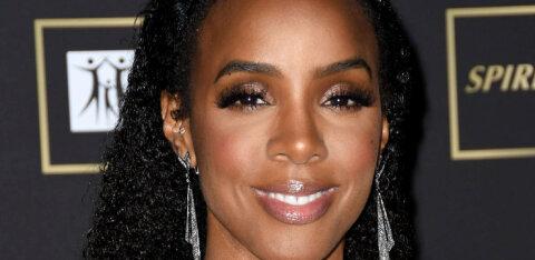 VIDEO | Võib ka nii! Üheksa kuud rase Kelly Rowland vihub hoogsalt trenni teha