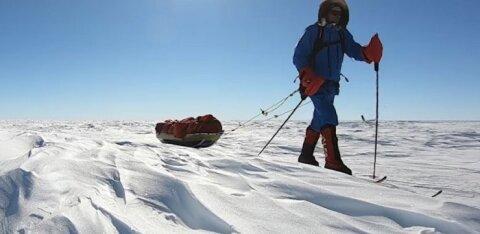 Путешествие на край Земли: эстонец в одиночку дошел на лыжах до Южного полюса