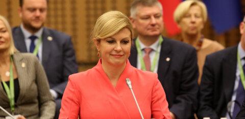 В Эстонию с визитом прибывает президент Хорватии
