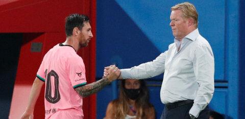 Barcelona peatreener Meistrite Liiga eel: me ei ole favoriidid
