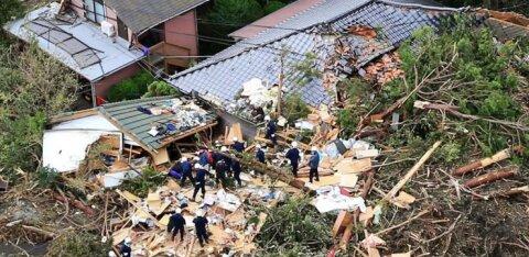 FOTOD | Tartumaa põllumehed jäid Jaapanis orkaanivangi