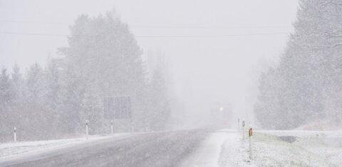 FOTOD | Esimene lumi tegi Viljandimaal maa valgeks