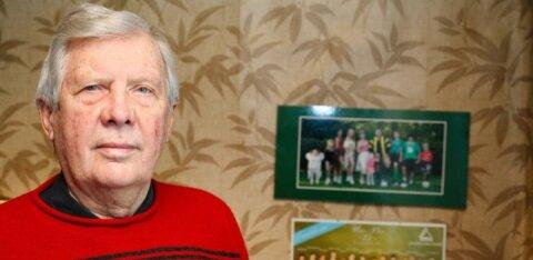 Футбольный тренер Уно Пийр отметил 90-летний юбилей