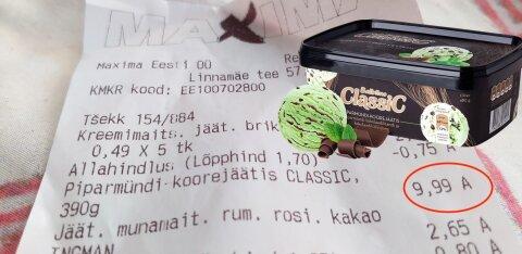 Клиент Maxima: 10 евро за мороженое Balbiino? Откуда такие цены? И это в День защиты детей!