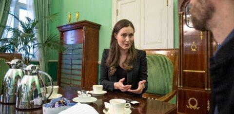 Премьер-министр Финляндии в Таллинне: да, в 19 лет я была продавцом. И это хорошо