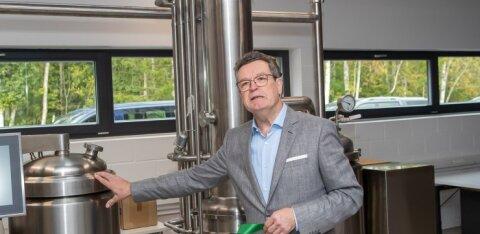 FOTOD | Eesti esimene lutserniekstrakti tehas avati Saaremaal