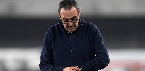 Meistrite liigas põrunud Juventuse peatreener sai sule sappa