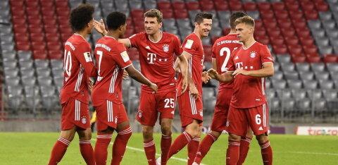 Müncheni Bayern küttis uue hooaja alustuseks Schalkele kaheksa väravat