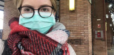 ФОТО | Приключение эстонской студентки в Испании: ехала учиться, а попала на строгий карантин