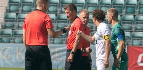 Jalgpalliliit täpsustab: mingit uut reeglit pole, teise inimese pihta köhimine on alati karistatav olnud