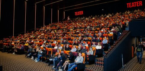 Iga eestlane käis mullu kinos pea kolm korda