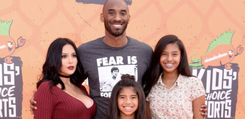 Traagiliselt hukkunud korvpallitähe abikaasa Vanessa Bryant proovib tütarde nimel tugev olla