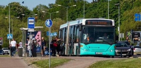 Часть временно упраздненных автобусных линий снова не откроются. Таллинн объясняет это отсутствием спроса