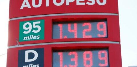GRAAFIK | Vaata, millised on selle ja eelmise aasta madalaimad ning kõrgeimad kütusehinnad Eestis