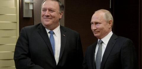 Путин встретился в Сочи с Помпео: об Украине не говорили